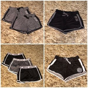 Justice Shorts bundle of 7! Great deal! Size 14/16